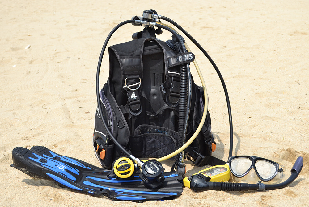 Complete Scuba Diving Set